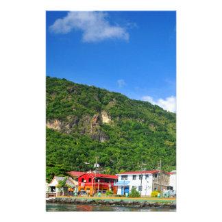 Saint Lucia Customized Stationery
