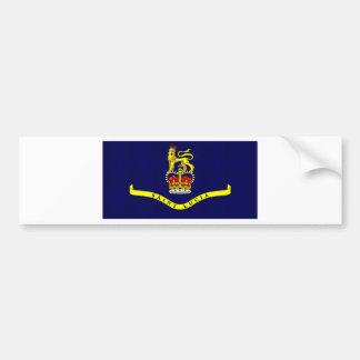 Saint Lucia Governor General Flag Bumper Stickers