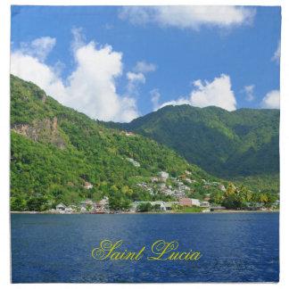 Saint Lucia Napkin