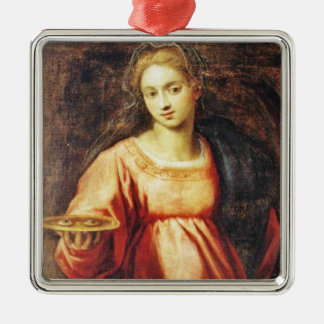 Saint Lucia of SWEDEN and ITALY Christmas Ornament