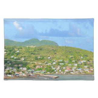 Saint Lucia Placemat