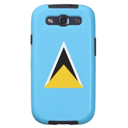 Saint Lucia St Lucia Flag Galaxy SIII Case