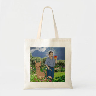 Saint Luis in the Garden Tote Bag