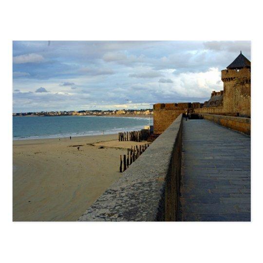 Saint Malo (France) Postcard