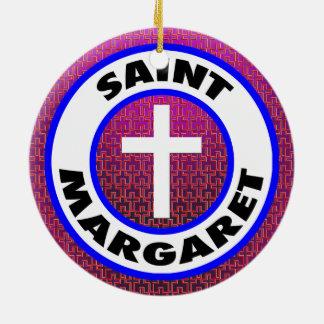 Saint Margaret Christmas Ornament