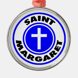 Saint Margaret Christmas Ornament