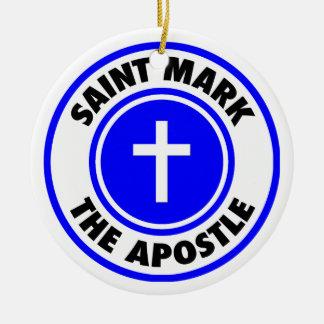 Saint Mark the Apostle Ornaments