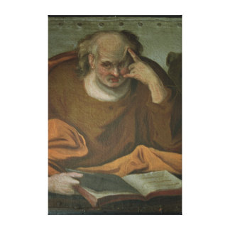 Saint Mark the Evangelist, 1588 Canvas Print