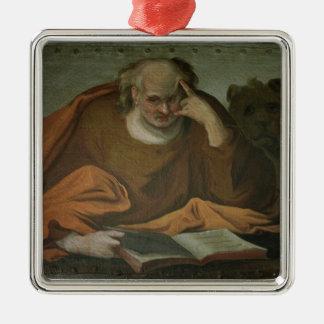 Saint Mark the Evangelist, 1588 Silver-Colored Square Decoration