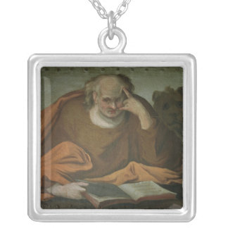 Saint Mark the Evangelist, 1588 Silver Plated Necklace