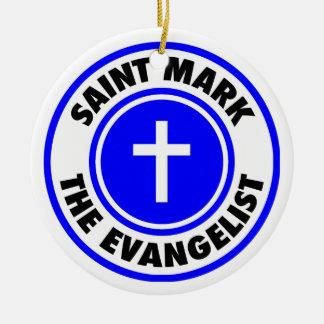 Saint Mark the Evangelist Christmas Tree Ornaments