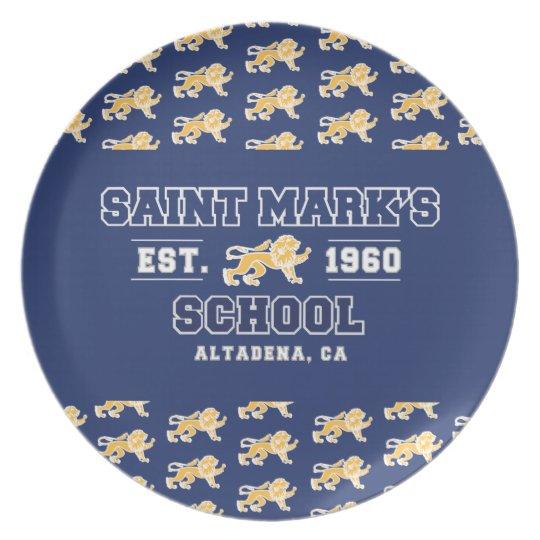 Saint Mark's Plate
