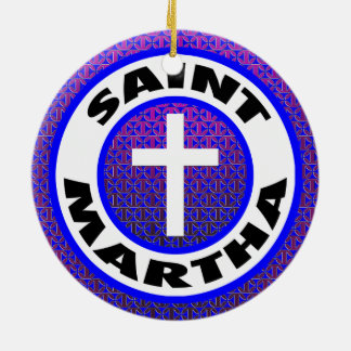 Saint Martha Christmas Ornament