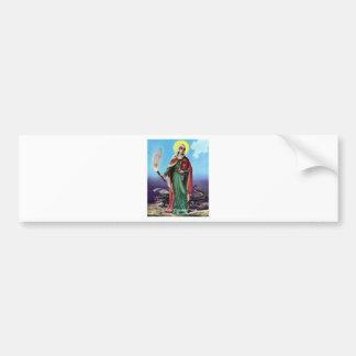 SAINT MARTHA ORIGINAL DRAGON LADY CAR BUMPER STICKER