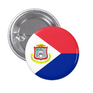 Saint Martin Flag Button