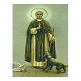 Saint Martin Prayer Postcard
