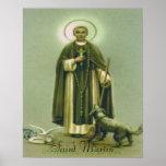 Saint Martin print