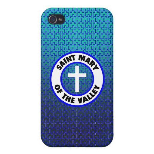 Saint Mary of the Valley iPhone 4 Cover