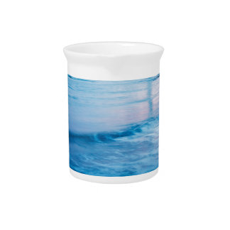 Saint Mary's Lighthouse at Whitley Bay Beverage Pitcher
