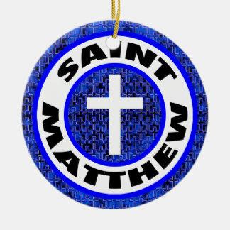 Saint Matthew Christmas Ornament