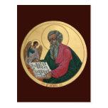 Saint Matthew Prayer Card Postcard