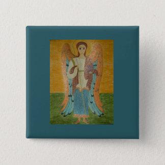 Saint Michael 15 Cm Square Badge