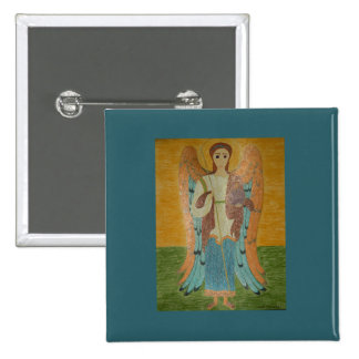 Saint Michael 15 Cm Square Badge