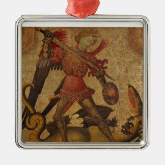 Saint Michael and the Dragon Christmas Ornament