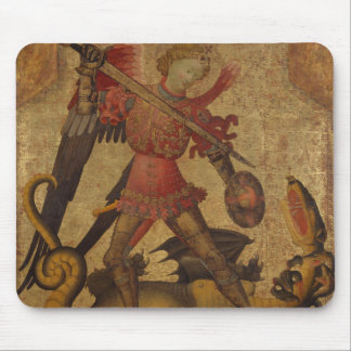 Saint Michael and the Dragon Mouse Mat