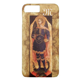 SAINT MICHAEL ARCHANGEL WITH DRAGON monogram iPhone 7 Plus Case