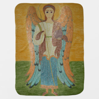 Saint Michael Baby Blanket