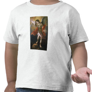 Saint Michael banishes the devil to the abyss Tee Shirt
