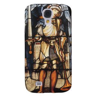 Saint Michael by Burne Jones, Vintage Archangel Galaxy S4 Case