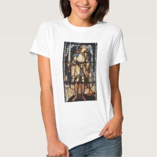 Saint Michael by Burne Jones, Vintage Archangel Tshirts