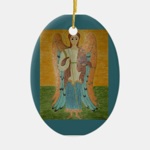 Saint Michael Christmas Ornaments