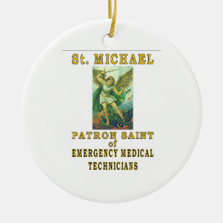 SAINT MICHAEL EMT CHRISTMAS ORNAMENT