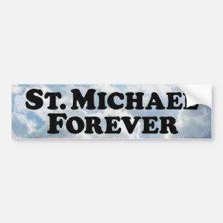 Saint Michael Forever - Basic Bumper Sticker