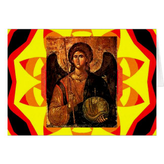 Saint Michael Greeting Card