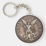 Saint Michael Key Chain