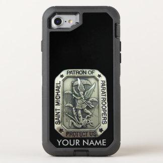 SAINT MICHAEL, Patron Saint of Paratroopers OtterBox Defender iPhone 7 Case