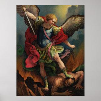 Saint Michael the Archangel Large Poster