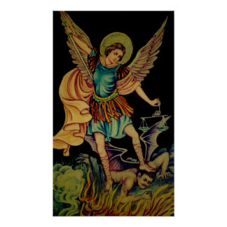 Saint Michael The ArchAngel Poster