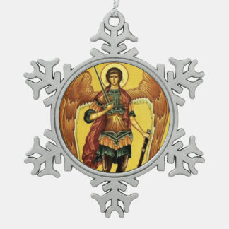 Saint Michael the Archangel Russian Icon Ornament