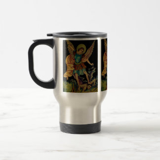 Saint Michael The Archangel Stainless Steel Travel Mug