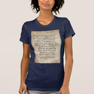 Saint Michael the Archangel Tee Shirt