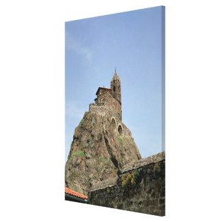Saint Michel d'Aiguilhe (photo) Canvas Print