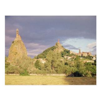 Saint Michel d'Aiguilhe, the Rocher Postcard