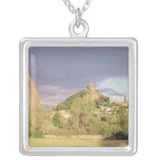 Saint Michel d'Aiguilhe, the Rocher Silver Plated Necklace