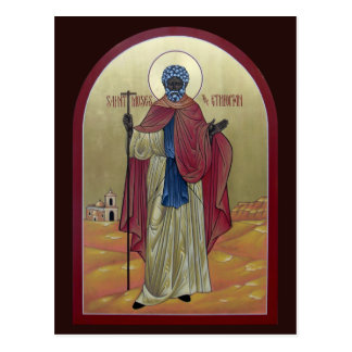 Saint Moses the Ethiopian Prayer Card