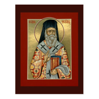 Saint Nektarios Prayer Card